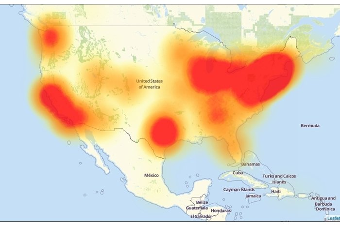 ... International Stories · DDoS knocks down DNS, data centers across the  U.S. affected